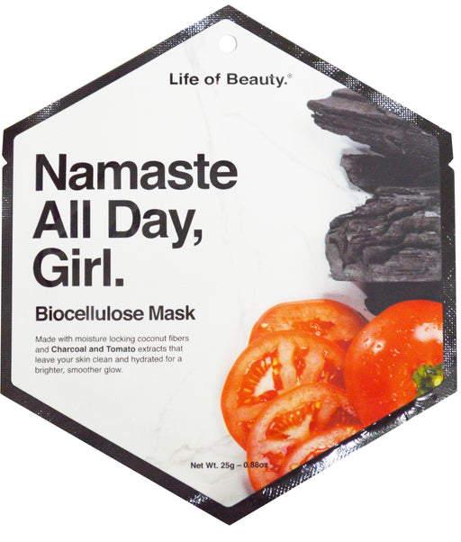 Tomato & Charcoal Face Mask