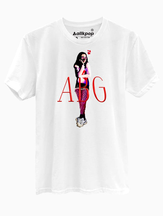 ABG Girl Tee Tees AKP Male White Small