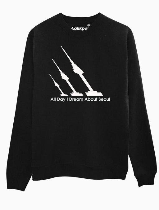 A.D.I.D.A.S Crew Crews AKP Unisex Black Small