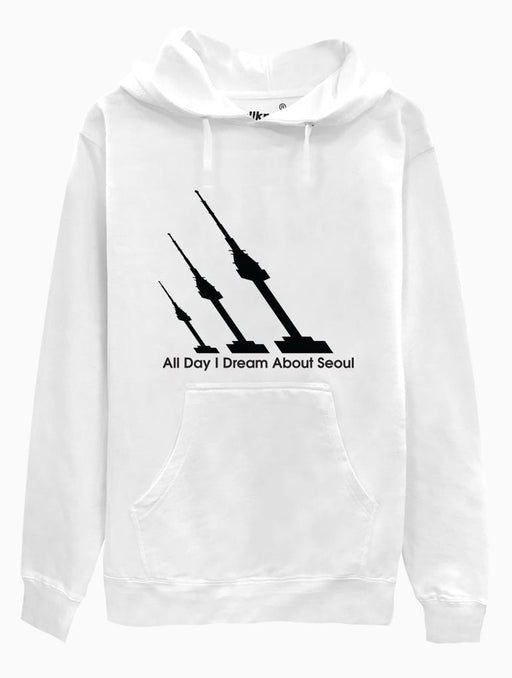 A.D.I.D.A.S Hoodie Hoodies AKP Unisex White Small