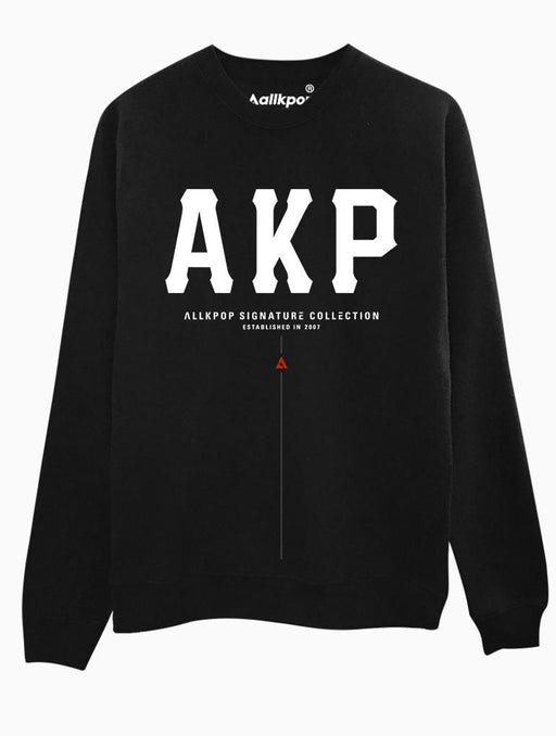 AKP Signature Bold Crew Crews AKP Unisex Black Small