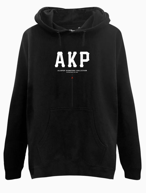 AKP Signature Bold Hoodie Hoodies AKP Unisex Black Small