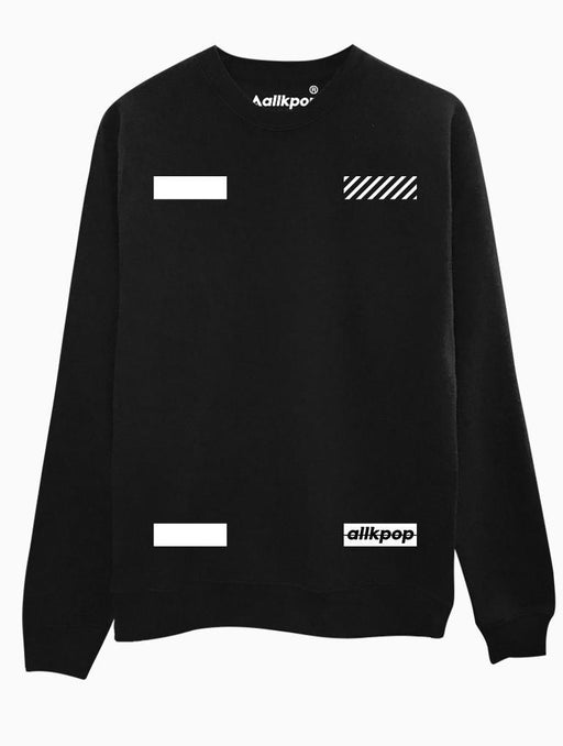 AKP Signature Corners Crew Crews AKP Unisex Black Small