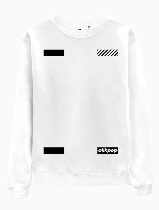 AKP Signature Corners Crew Crews AKP Unisex White Small