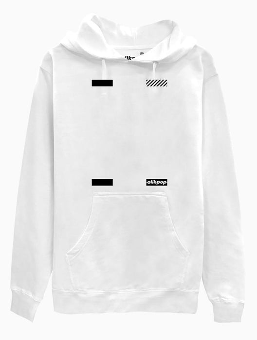 AKP Signature Corners Hoodie Hoodies AKP Unisex White Small