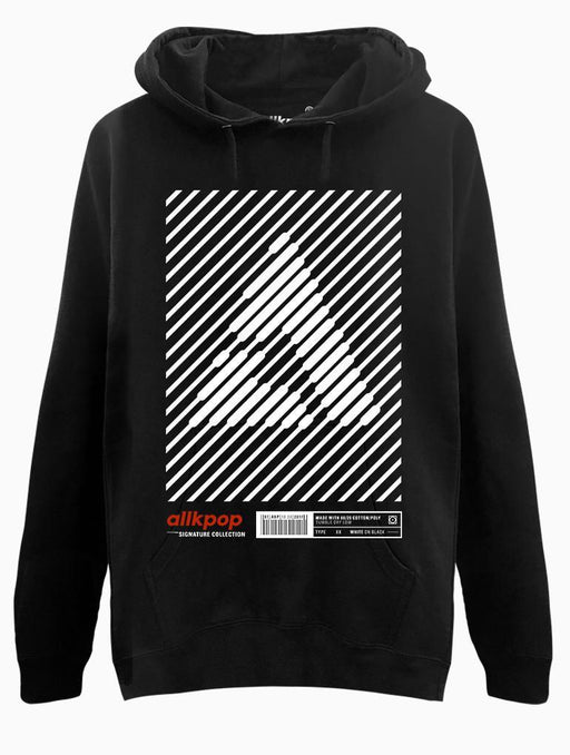 AKP Signature Stripe Hoodie Hoodies AKP Unisex Black Small
