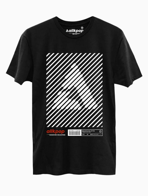 AKP Signature Stripe Tee Tees AKP Male Black Small