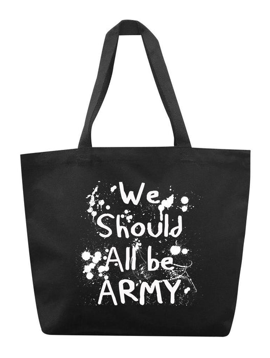 All Army Tote Tote AKP Black