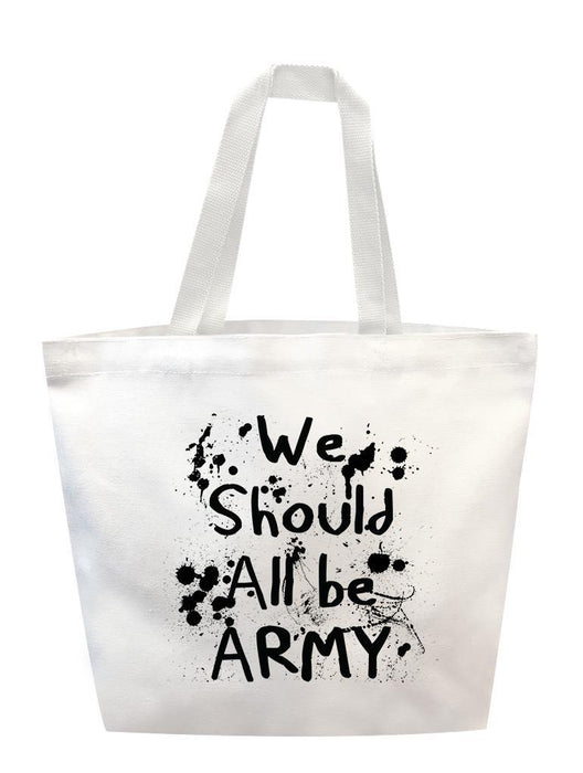 All Army Tote Tote AKP White