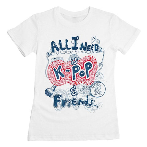 K-Pop & Friends Tee