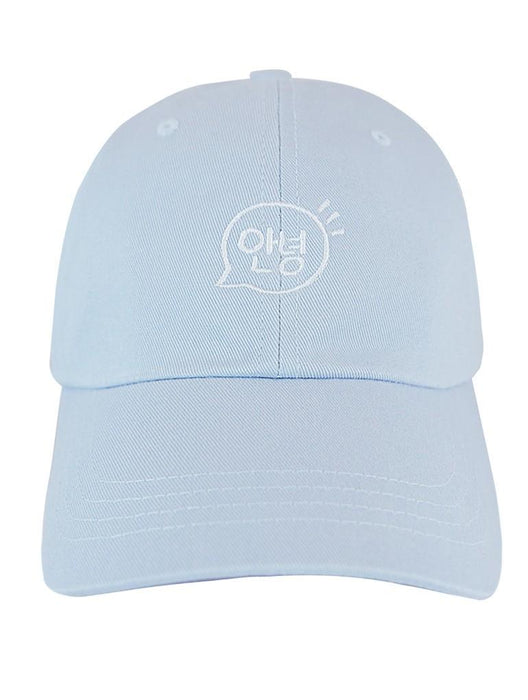 Annyeong Dad Hat Dad Hat AKP Blue