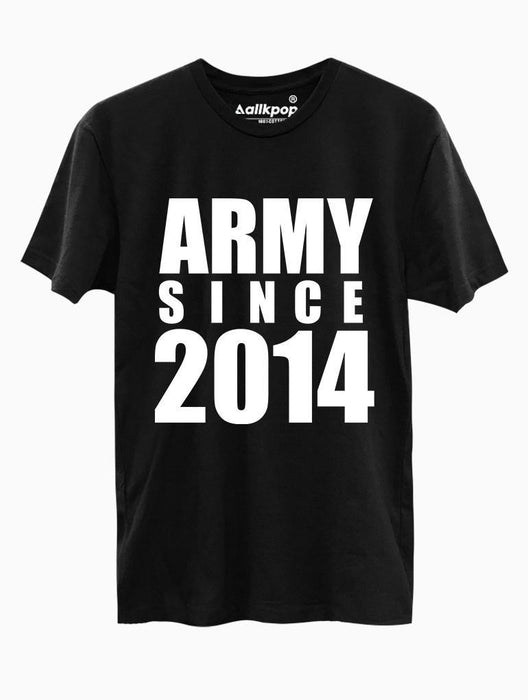 ARMY 2014 Tee Tees AKP Male Black Small