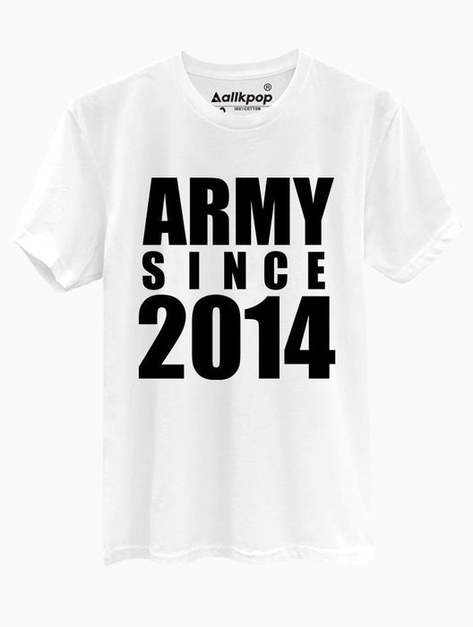 ARMY 2014 Tee Tees AKP Male White Small