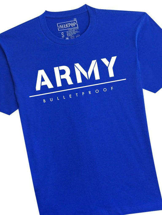 ARMY Bold Tee Tees AKP Male Blue Small