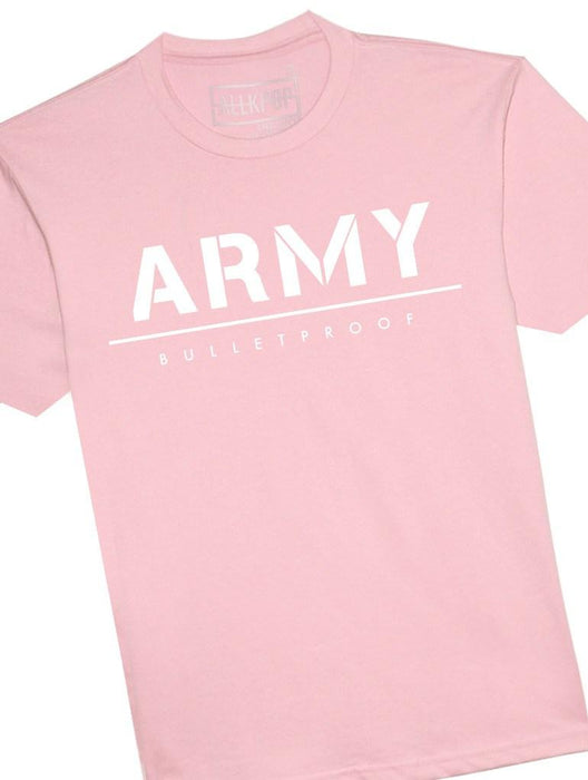 ARMY Bold Tee Tees AKP Male Pink Small