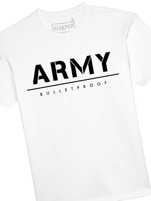 ARMY Bold Tee Tees AKP Male White Small