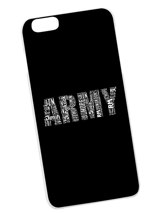 ARMY Name Case Phone Case AKP Black