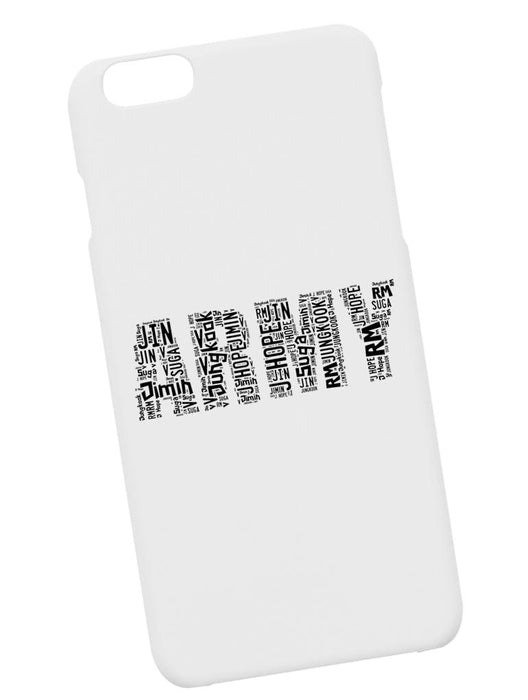 ARMY Name Case Phone Case AKP White