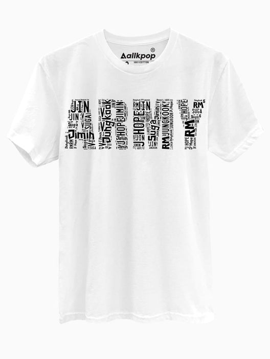 ARMY Name Tee Tees AKP