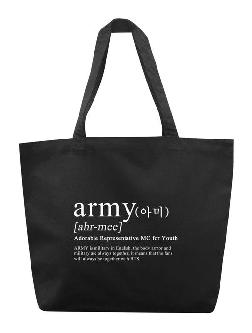 ARMY Definition Tote