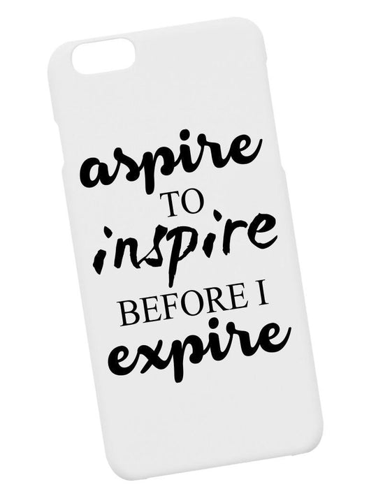 Aspire Case Phone Case AKP White