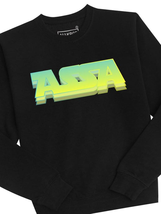 ASSA Crew Crews AKP Unisex Black Small