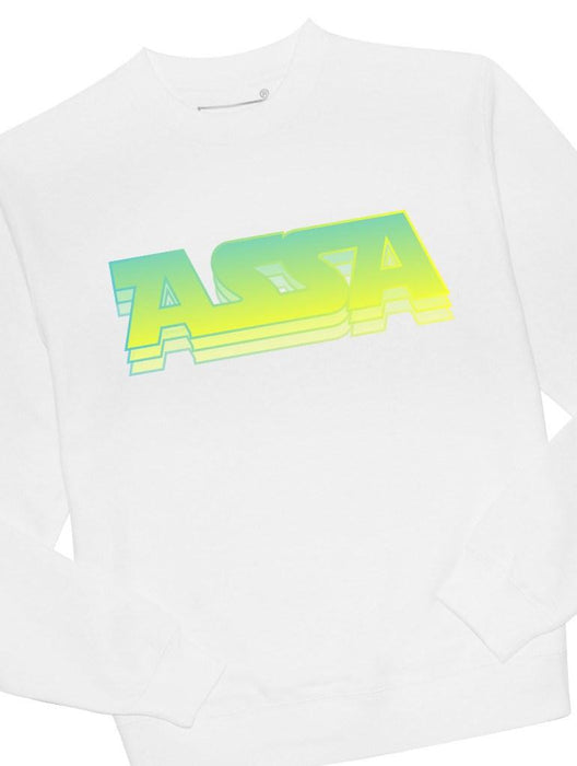 ASSA Crew Crews AKP Unisex White Small