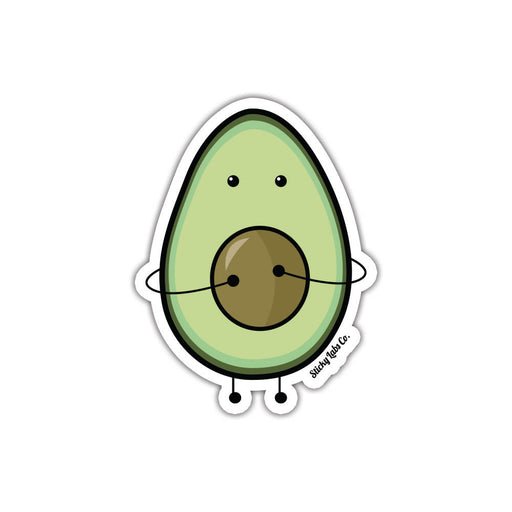 Avocado Pit(y) Sticker