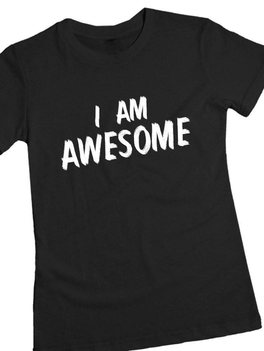 Awesome Tee Tees AKP Female Black Small