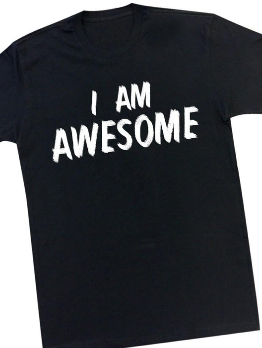 Awesome Tee Tees AKP Male Black Small