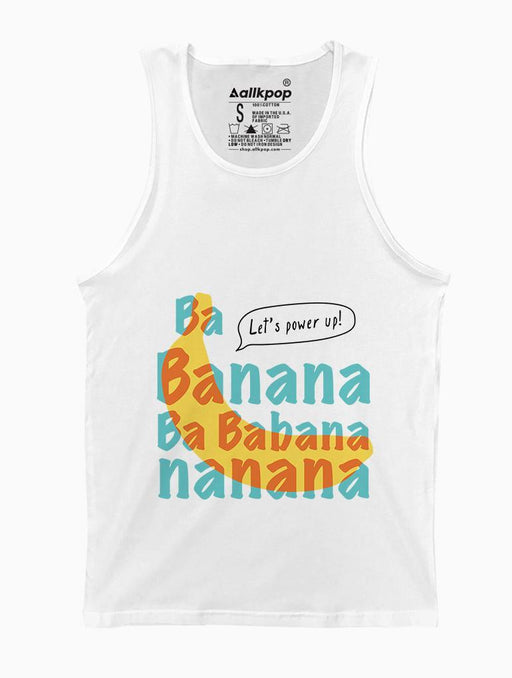 Banana Tank Tanks AKP Unisex White Small