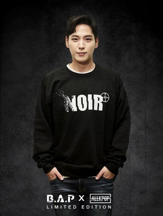 B.A.P Limited Edition NOIR Crew Crews AKP Unisex Black Small