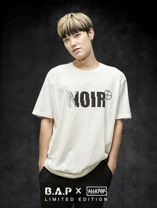 B.A.P Limited Edition NOIR Tee Tees AKP Male White Small
