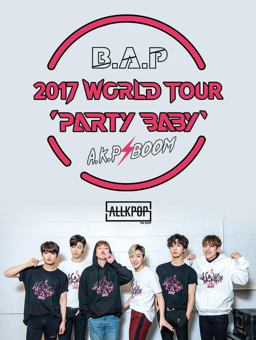 B.A.P Party Baby 2017 Tee Tees AKP