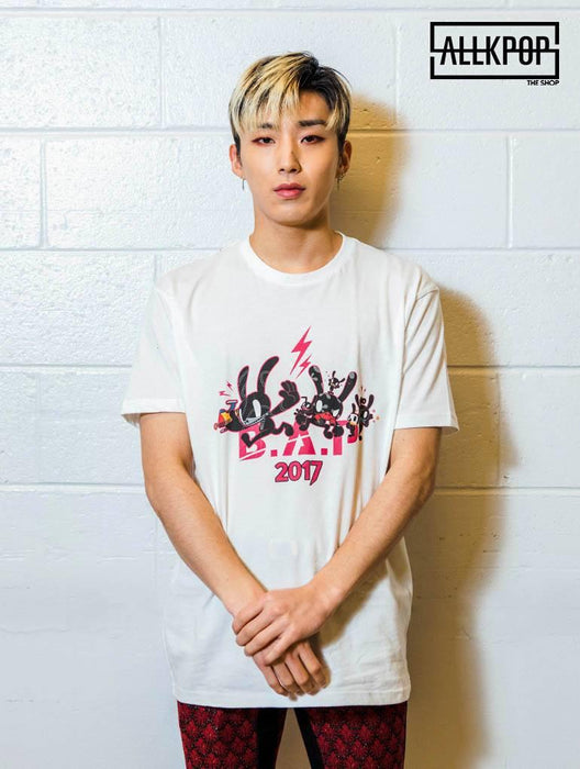 B.A.P Party Baby 2017 Tee Tees AKP Male White Medium