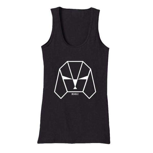 Beagle Tank Tanks AKP Unisex Black Small