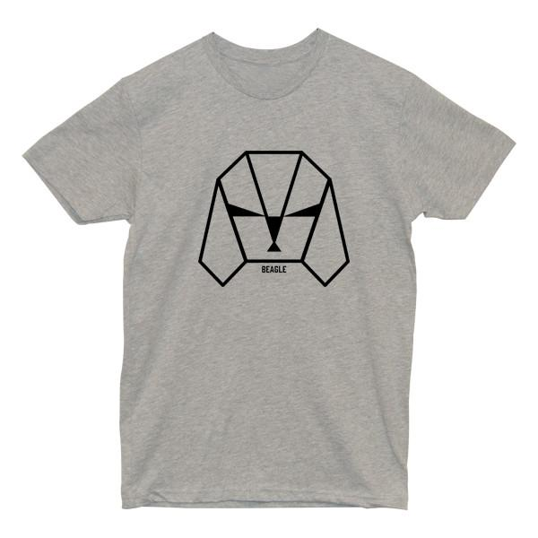 Beagle Tee Tees AKP Male Grey Small