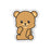 Cuddly Bear Sticker