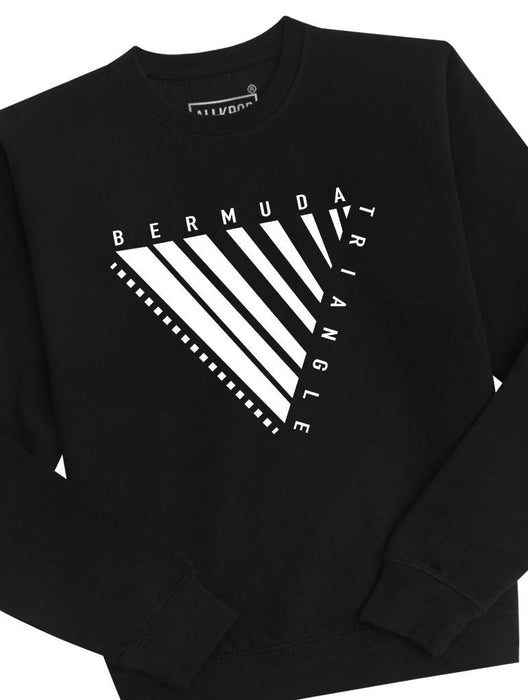 Bermuda Triangle Crew Crews AKP Unisex Black Small