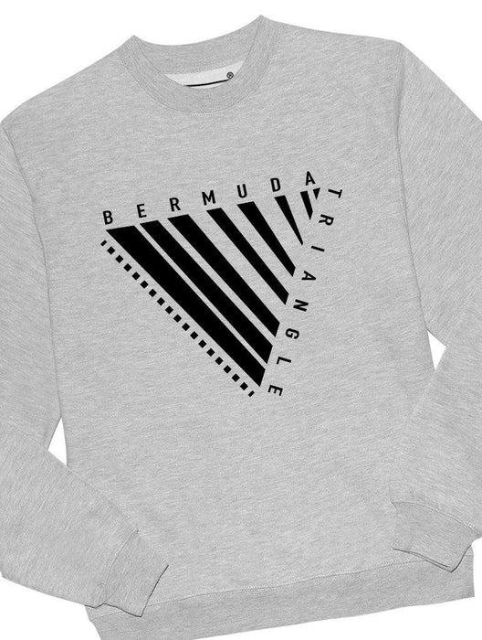 Bermuda Triangle Crew Crews AKP Unisex Grey Small