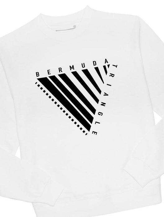 Bermuda Triangle Crew Crews AKP Unisex White Small
