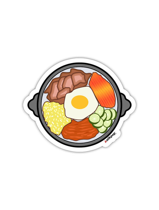 Bibimbap Bowl Sticker