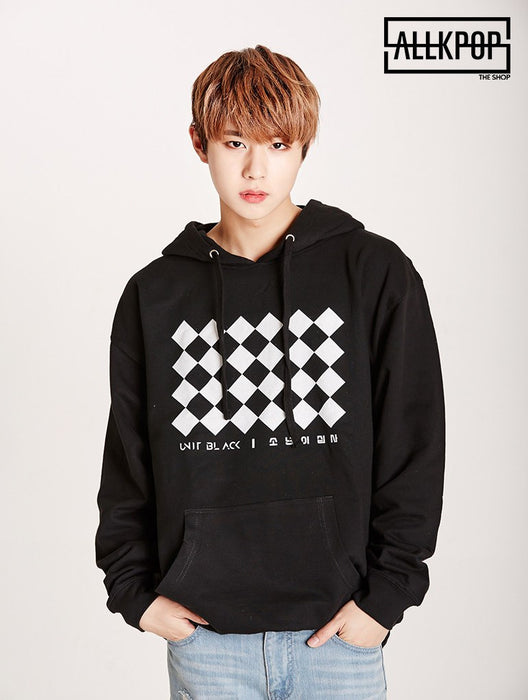 Official BOYS24 Unit Black Hoodie