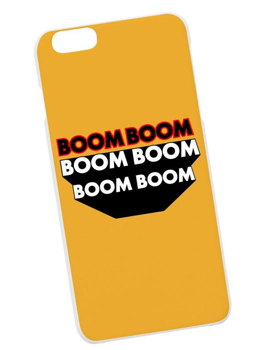 Boom Boom Case Phone Case AKP Yellow