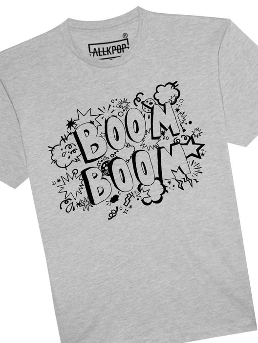 Boom Boom Tee Tees AKP Male Grey Small