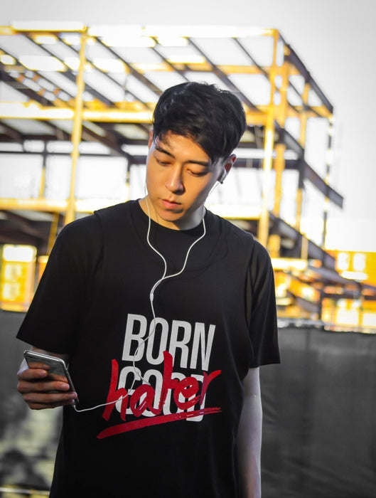 Born Hater Tee Tees AKP Male Black Small