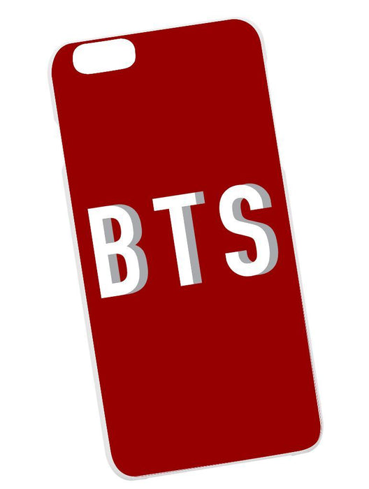 BTS Drop Case Phone Case AKP Red
