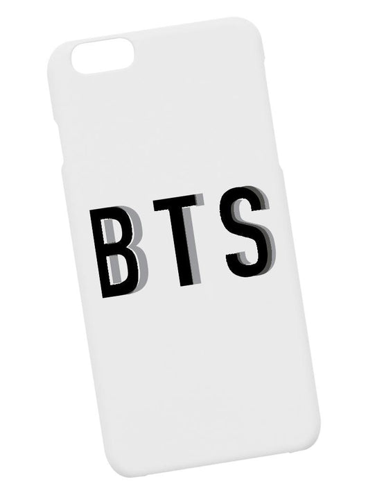 BTS Drop Case Phone Case AKP White