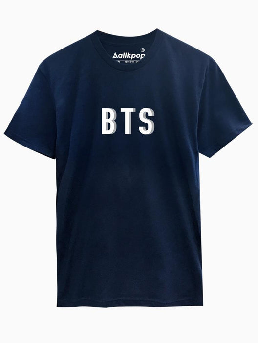 BTS Drop Tee Tees AKP Male Navy Small