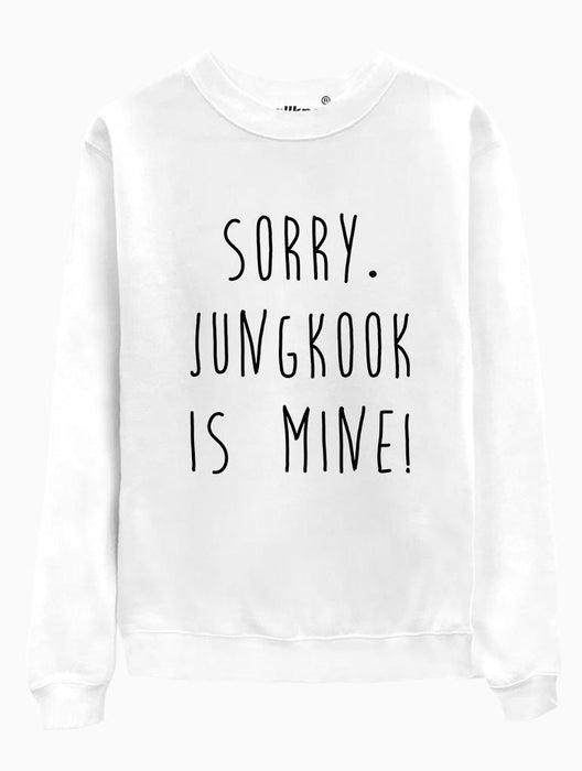 BTS Mine Crew Crews AKP Jungkook White Small